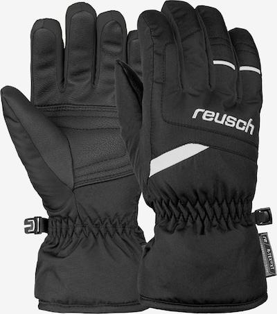 REUSCH Fingerhandschuhe 'Bennet R-TEX® XT Junior' in schwarz / weiß, Produktansicht