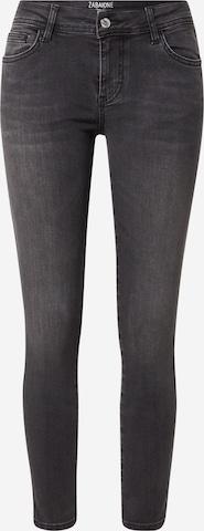 Jeans 'Summer' de la ZABAIONE pe negru