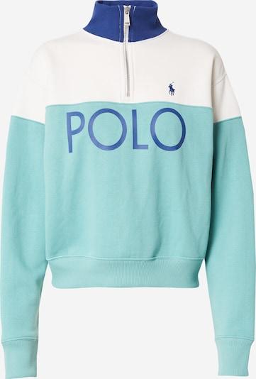 Polo Ralph Lauren Μπλούζα φούτερ σε μπλε / τιρκουάζ / λευκό, Άποψη προϊόντος