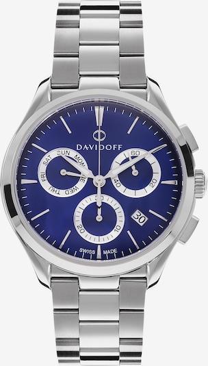 Davidoff Essentials No. 1 Chronograph Edelstahl in silber, Produktansicht