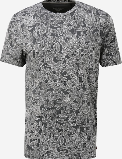 Marc O'Polo Shirt in de kleur Grafiet / Donkergrijs / Wit, Productweergave
