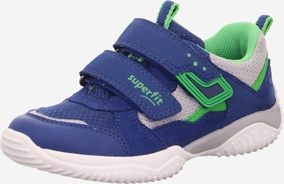SUPERFIT Low shoe 'Storm' in Blue / Green, Item view