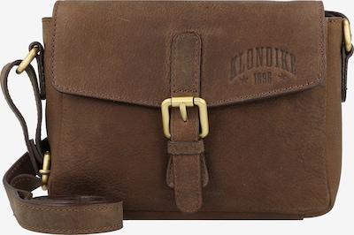 KLONDIKE 1896 Umhängetasche 'Taylor' in braun, Produktansicht
