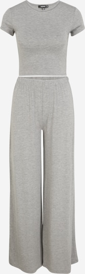 Missguided Tall Pijama en gris moteado, Vista del producto