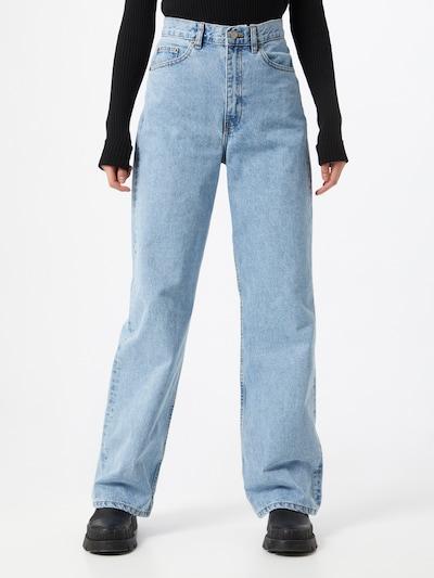 Dr. Denim Jeans 'Echo' i blå denim: Sedd framifrån