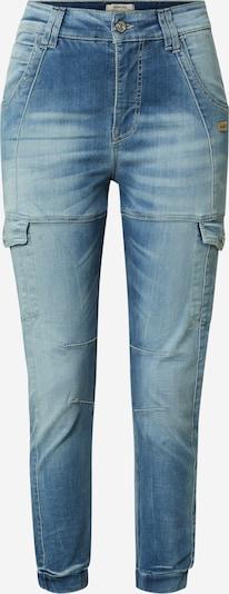Gang Jeans cargo 'GISELLE' en bleu denim, Vue avec produit