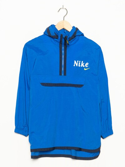 NIKE Sportjacke in S-M in kobaltblau, Produktansicht