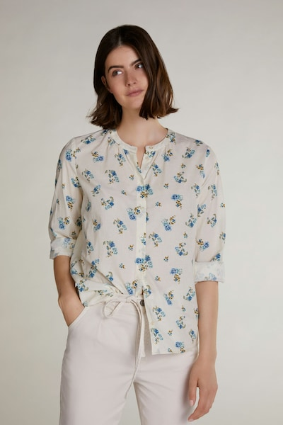 OUI Bluse in beige: Frontalansicht