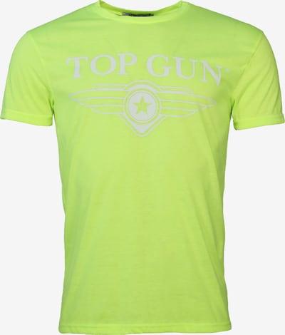 TOP GUN T-Shirt ' Radiate ' in gelb: Frontalansicht