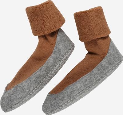 FALKE Pantofle - hnědá / šedý melír, Produkt