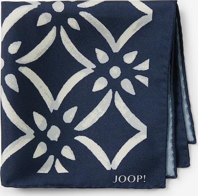 JOOP! Einstecktuch 'Pochette' in blau / weiß, Produktansicht