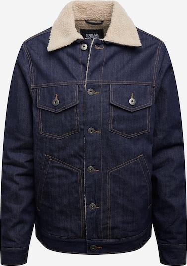 Urban Classics Tussenjas 'Sherpa' in de kleur Donkerblauw, Productweergave