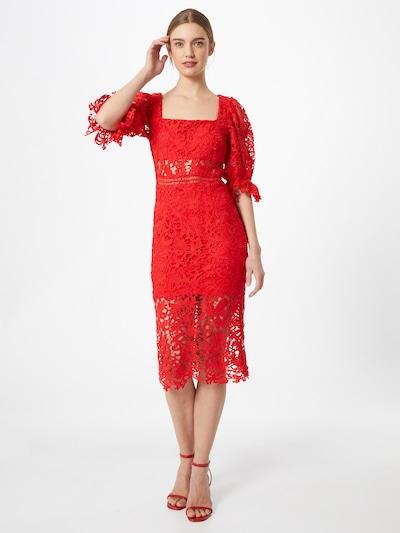 Love Triangle Kleid 'ALLEGRA' in hellrot, Modelansicht