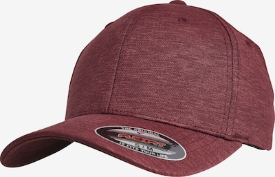 Flexfit Cap 'Flexfit Natural Melange' in burgunder, Produktansicht