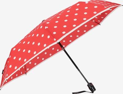 KNIRPS Regenschirm 'T.200' in rot / weiß, Produktansicht