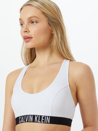 Calvin Klein Swimwear Bikini top in Black / White, View model