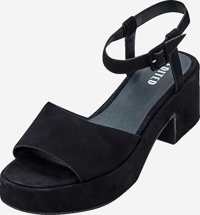 Sandale 'Mariette' EDITED pe negru, Vizualizare produs