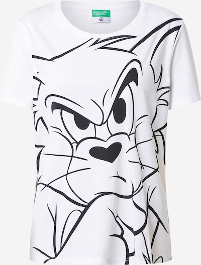 UNITED COLORS OF BENETTON Koszulka w kolorze białym, Podgląd produktu