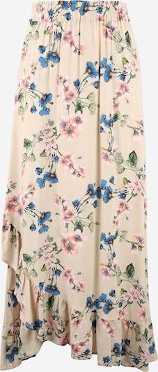 OBJECT Tall Skirt 'PAREE' in Cream / Blue / Grass green / Pink, Item view