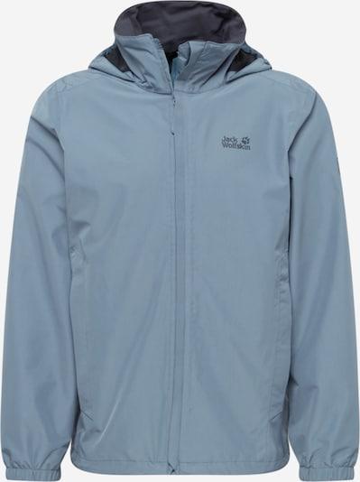 JACK WOLFSKIN Veste outdoor 'Stormy point' en bleu-gris / gris, Vue avec produit