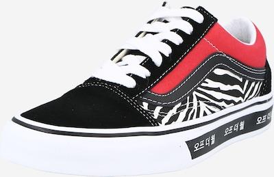 VANS Sneaker low 'Old Skool' i blå / rød / sort / hvid, Produktvisning