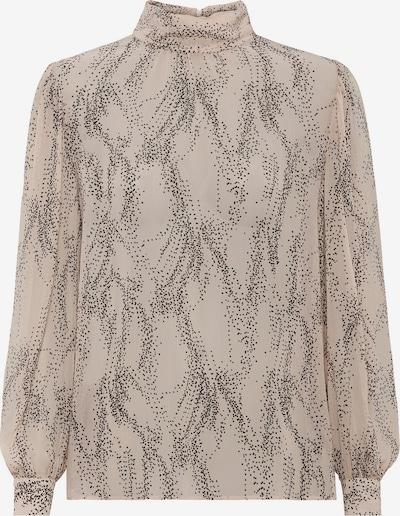 HALLHUBER Bluse in beige / grau, Produktansicht