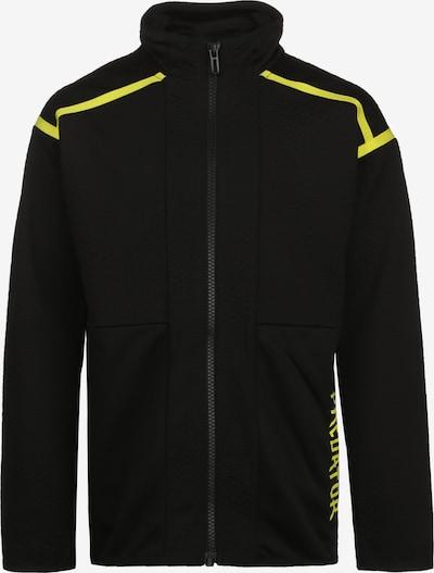 ADIDAS PERFORMANCE Trainingsjacke 'Predator' in gelb / schwarz, Produktansicht