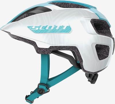 SCOTT Fahrradhelm 'Spunto' in türkis / perlweiß, Produktansicht