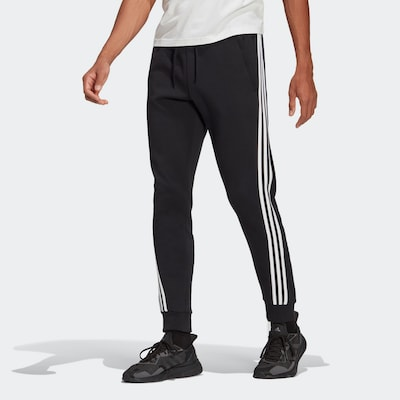 ADIDAS PERFORMANCE Sporthose in schwarz / weiß, Modelansicht