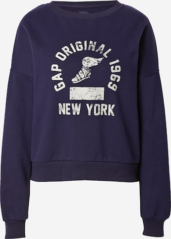 GAPSweater majica - plava boja