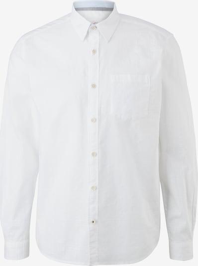 s.Oliver Chemise en blanc, Vue avec produit