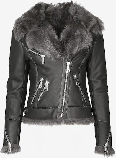 Maze Winterjas 'Exford' in de kleur Zwart, Productweergave