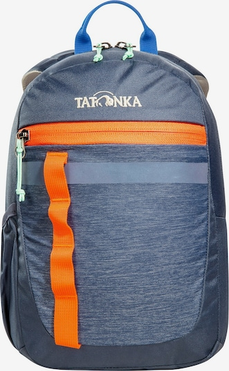 TATONKA Rugzak in de kleur Blauw / Sinaasappel / Wit, Productweergave