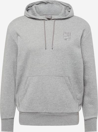 PUMA Athletic Sweatshirt in mottled grey, Item view