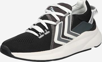 Hummel Sneaker in Schwarz
