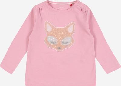 s.Oliver T-Shirt in rosa / weiß, Produktansicht