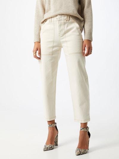 DRYKORN Jeans 'Carpenter' in white denim, Modelansicht