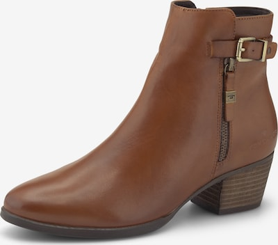 TOM TAILOR Ankle Boots in braun, Produktansicht