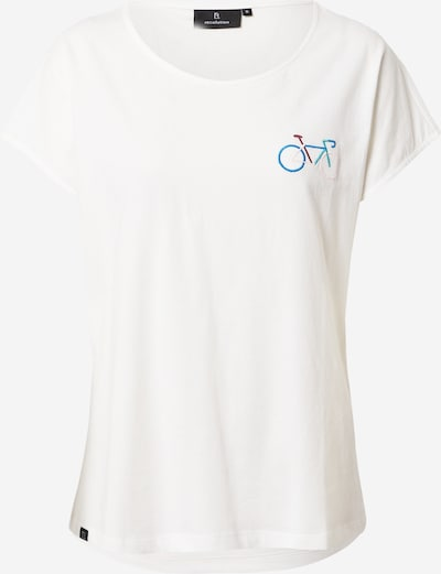 recolution Shirt in de kleur Blauw / Rood / Offwhite, Productweergave
