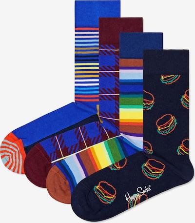 Calzino Happy Socks di colore blu / blu notte / colori misti / bordeaux, Visualizzazione prodotti