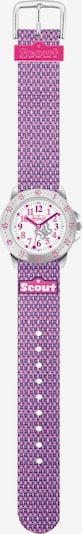 SCOUT Uhr in lila / pink, Produktansicht