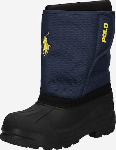Polo Ralph Lauren Sniega apavi, krāsa - tumši zils / melns, Preces skats
