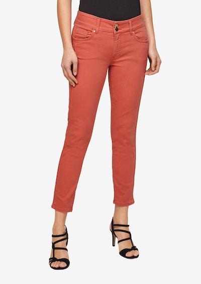 s.Oliver BLACK LABEL Jeans in de kleur Abrikoos, Modelweergave