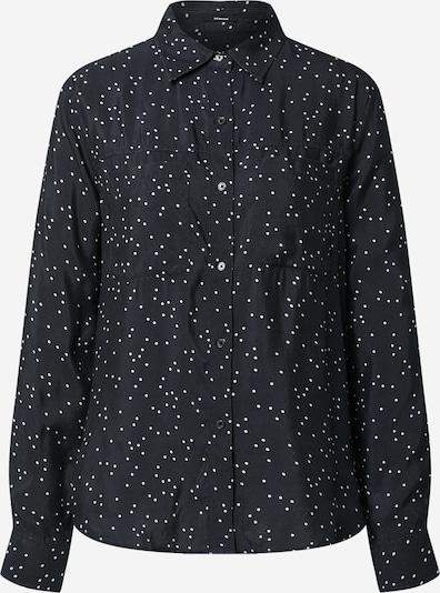 DENHAM Блуза 'DENISE' в нощно синьо / бяло, Преглед на продукта