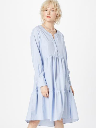 SECOND FEMALE Kleid 'Moscow' in hellblau, Modelansicht