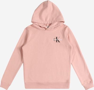 Bluză de molton Calvin Klein Jeans pe roz / negru / alb, Vizualizare produs