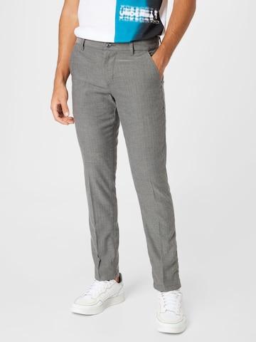 Pantalon chino TOM TAILOR DENIM en gris
