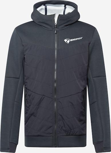 ZIENER Jacke in schwarz / weiß, Produktansicht