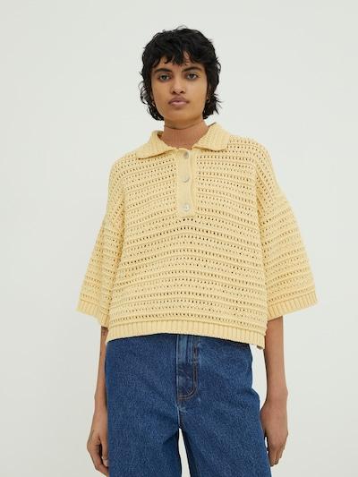 EDITED Pullover 'Anaya' in beige: Frontalansicht