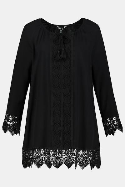 Ulla Popken Tunika in schwarz, Produktansicht